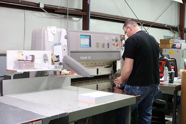 worker printshop